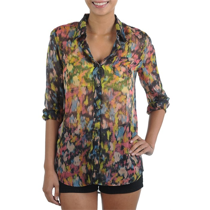Volcom - Not So Classic 2 Button Down Shirt - Women's