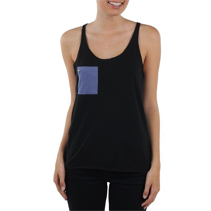Volcom - Too Soon Hi-Low Twist Tank Top - Women's