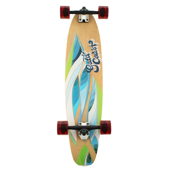 Gold Coast - Krafted Roller Fiberglass Longboard Complete