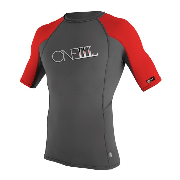 O'Neill - Skins Graphic Short Sleeve Crew Surf Shirt 2012
