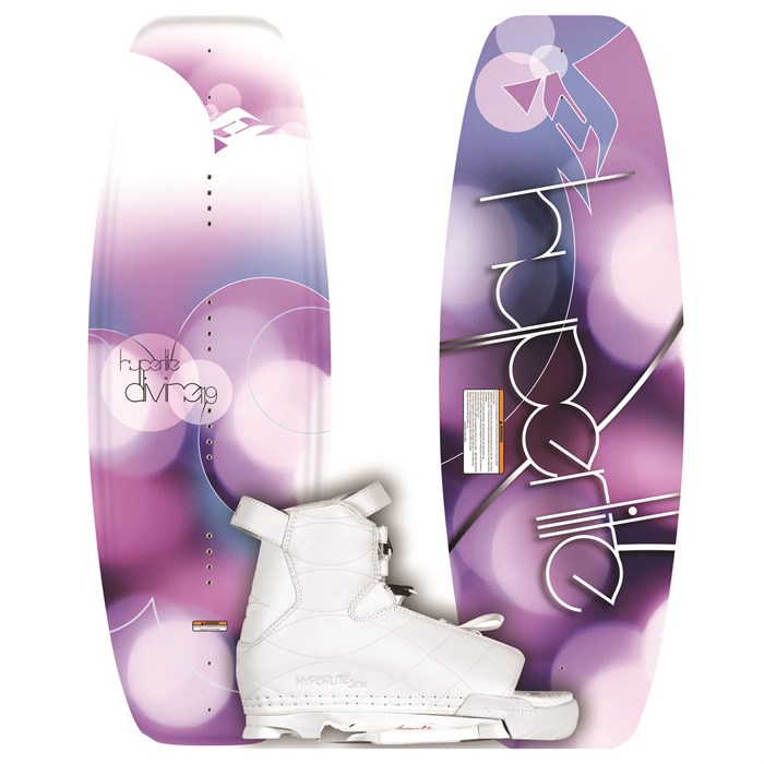 Hyperlite - Divine Wakeboard + Jinx Wakeboard Bindings - Youth - Girl's 2012