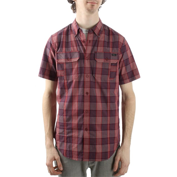 RVCA - Bleeker Noodle Short Sleeve Button Down Shirt