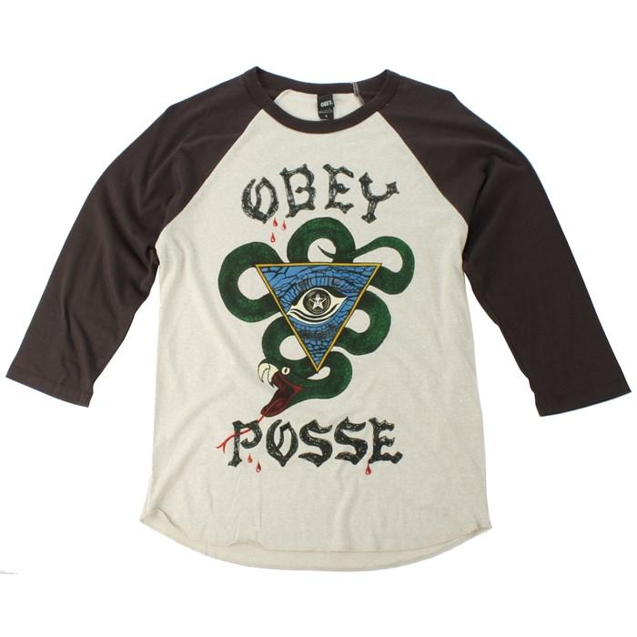 Obey Clothing - Poison Posse Raglan Shirt