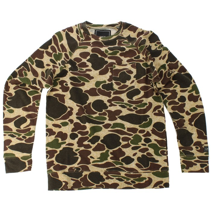 Obey Clothing - Creature Comforts Crew Neck Sweater