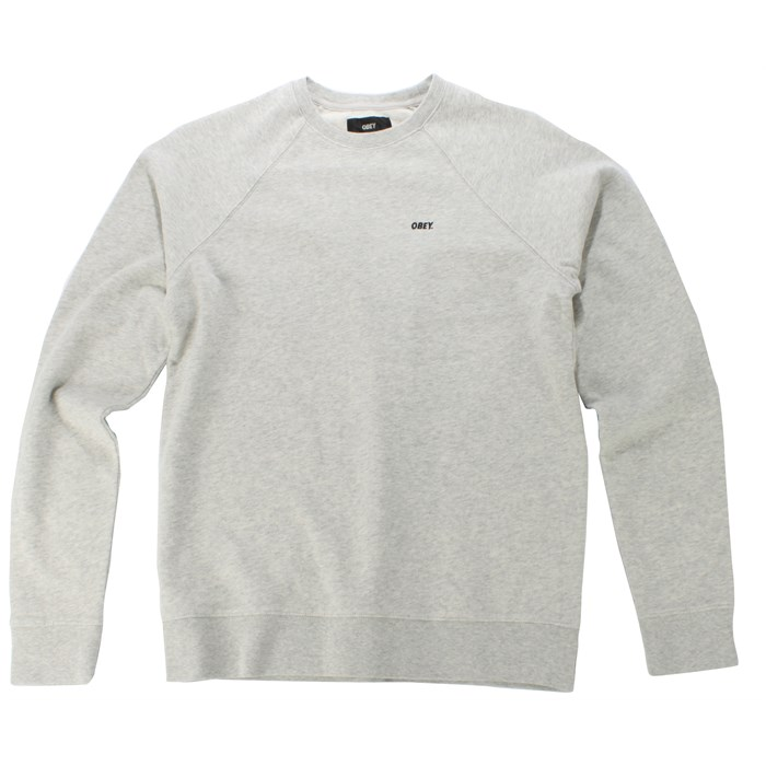 Obey Clothing - Standard Issue Classic Crew Neck Sweater