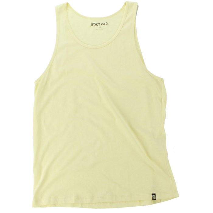 Obey Clothing - Slub Tank Top