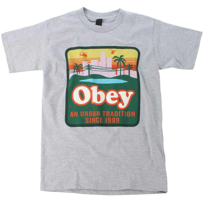 Obey Clothing - Old World Order Basic Heather T Shirt