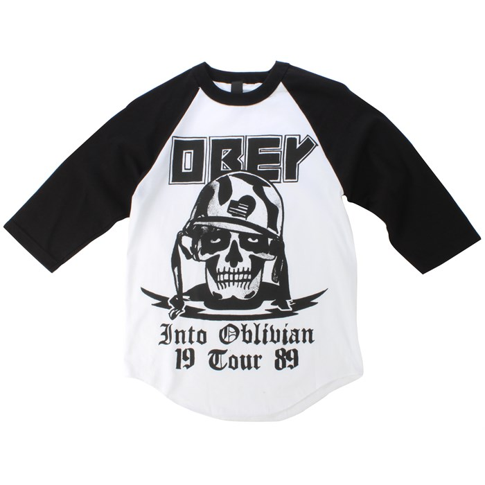 Obey Clothing - Into Oblivion Raglan Shirt