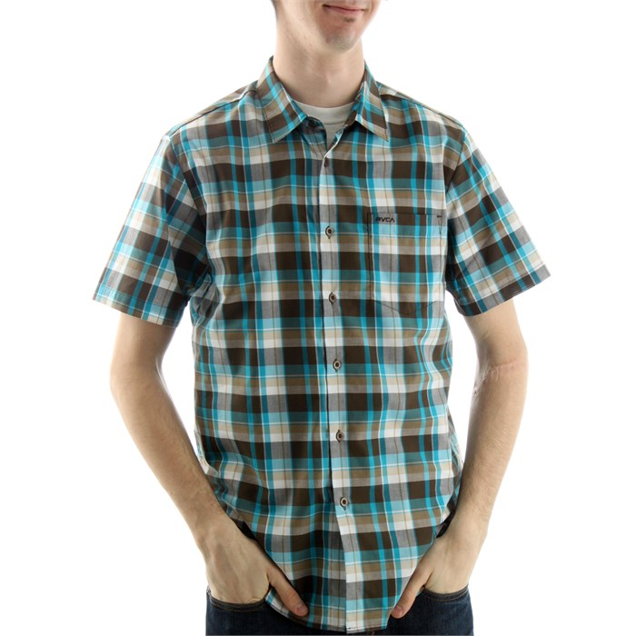 RVCA - Porter Short Sleeve Button Down Shirt
