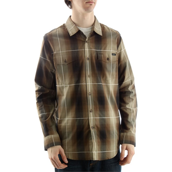RVCA - The Brick Button Down Shirt