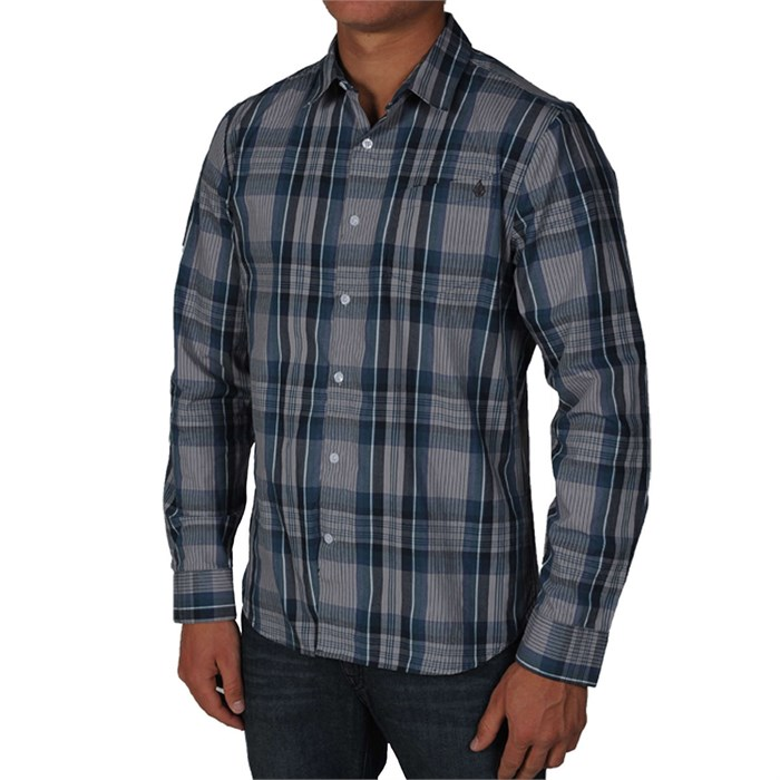 Volcom - X Factor Plaid Button Down Shirt