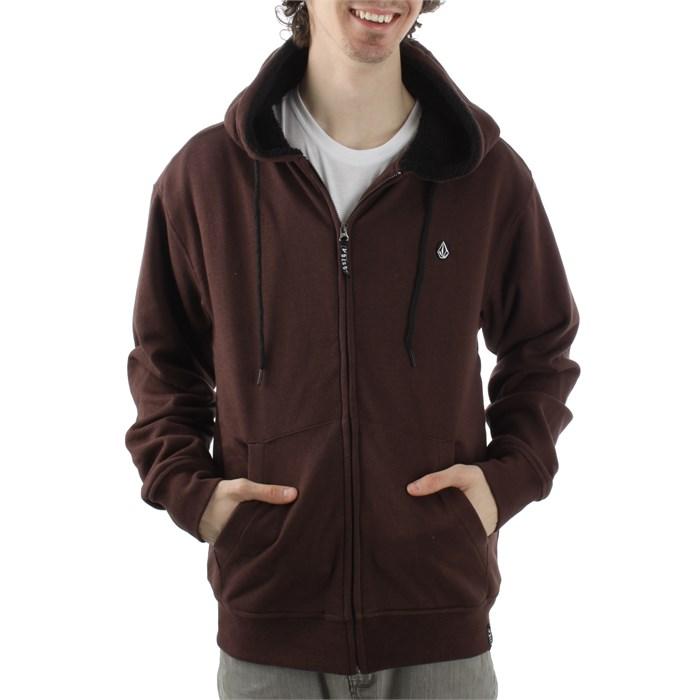 Volcom - Solid Speckle Lined Zip Hoodie