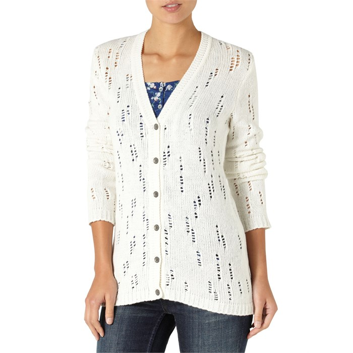 Quiksilver - Dunes Open Knit Cardigan Sweater - Women's