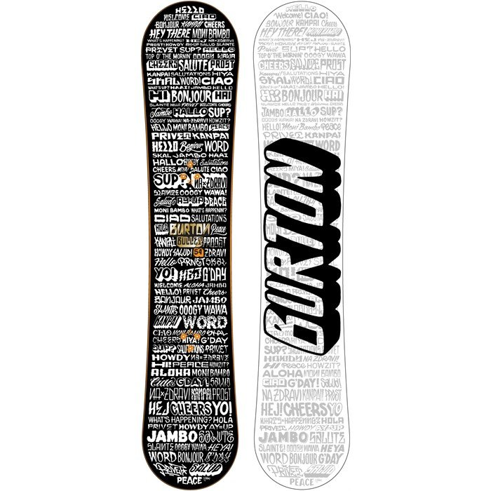 Burton - Bullet Wide Snowboard - Blem 2012