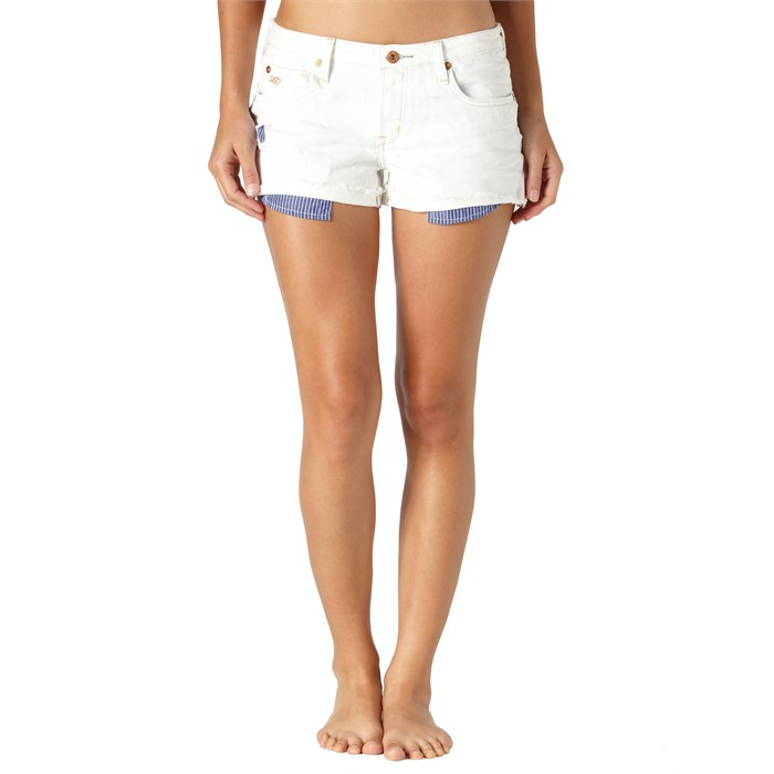 Quiksilver - Breezer Easel White Shorts - Women's