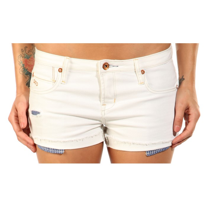 Quiksilver - Breezer Deep Coral Shorts - Women's
