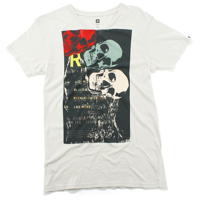 Analog - Skull Tipping V Neck T Shirt