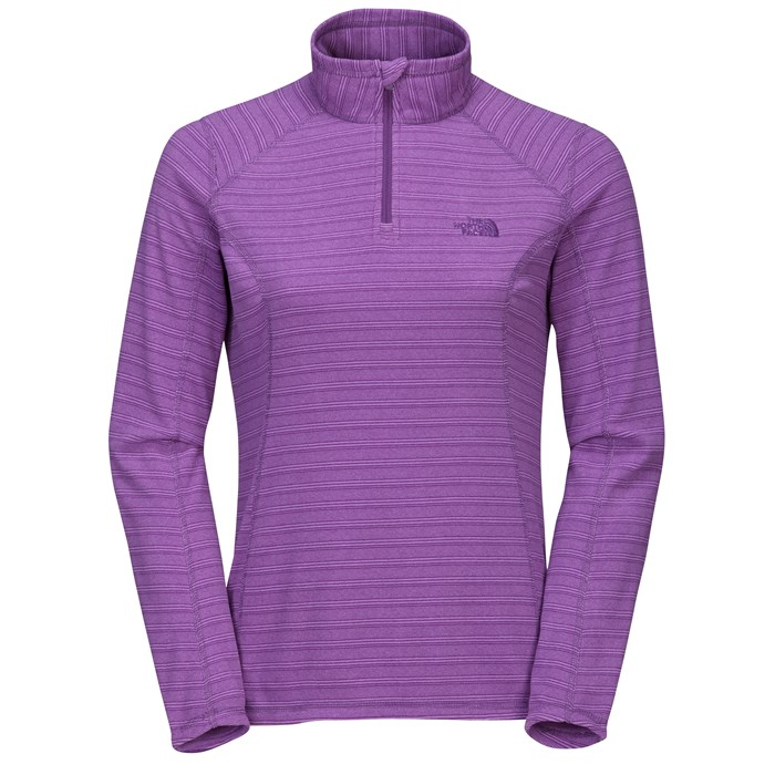 The North Face - TKA 100 Novelty Glacier 1/4 Zip Top - Women's