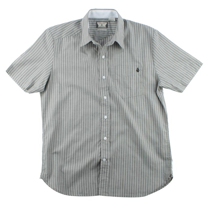 Volcom - Ex Factor Stripe Short Sleeve Button Down Shirt
