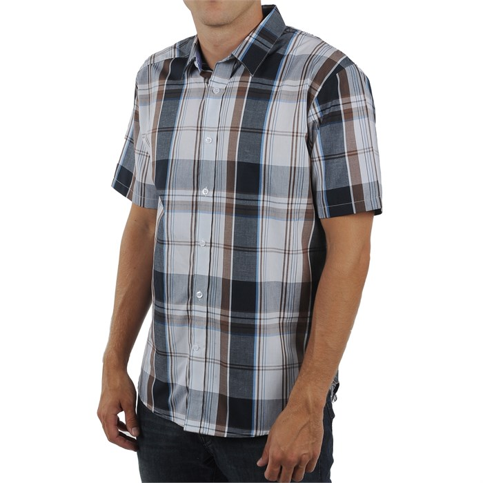 Volcom - Ex Factor Plaid Short Sleeve Button Down Shirt