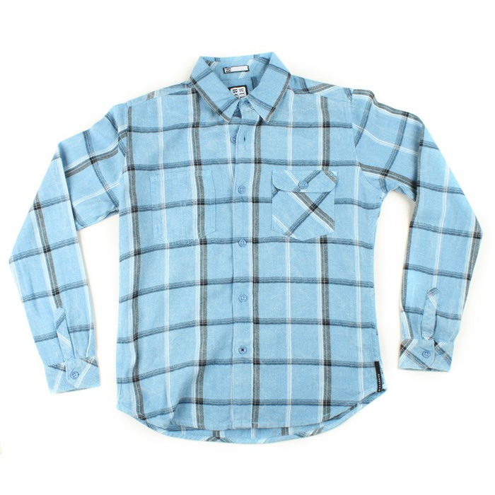Billabong - Switchback Button-Down Shirt (Ages 8-14) - Boy's