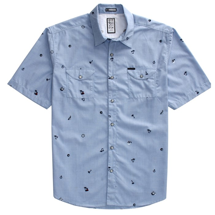 Billabong - Matey Short Sleeve Button Down Shirt