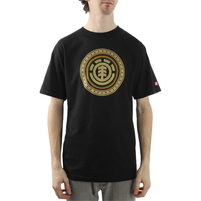 Element - Rasta Seal T Shirt