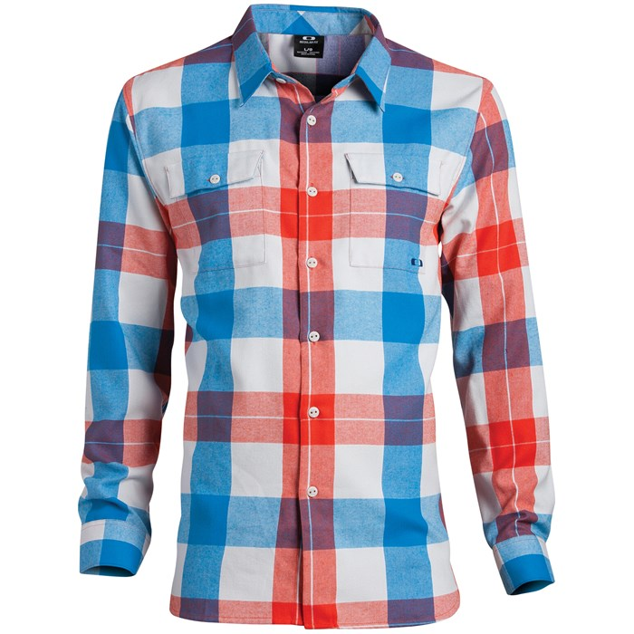 Oakley - Cut Out Button Down Shirt