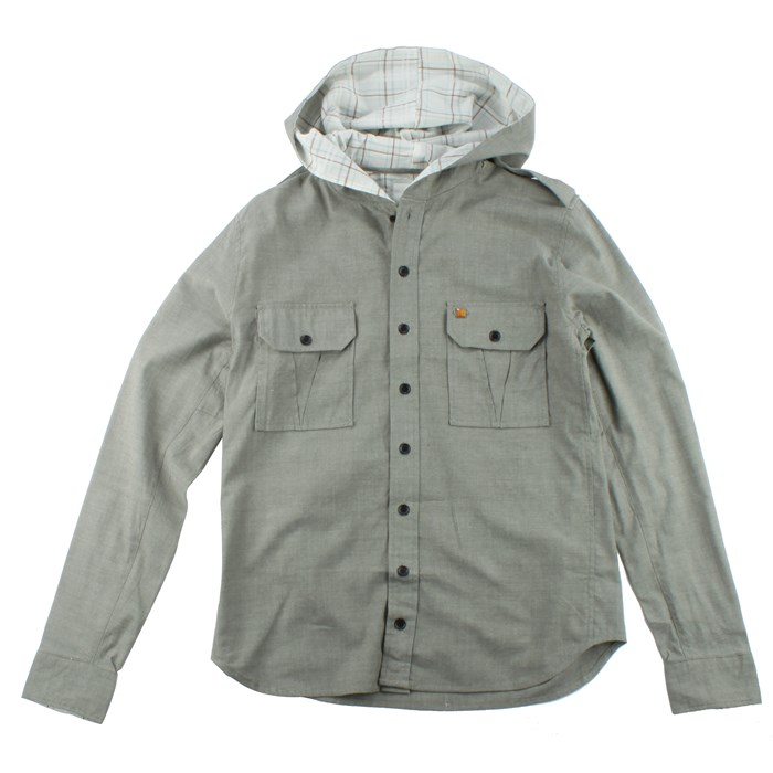 Arbor - Arbor Boardwalk Hooded Button Down Shirt