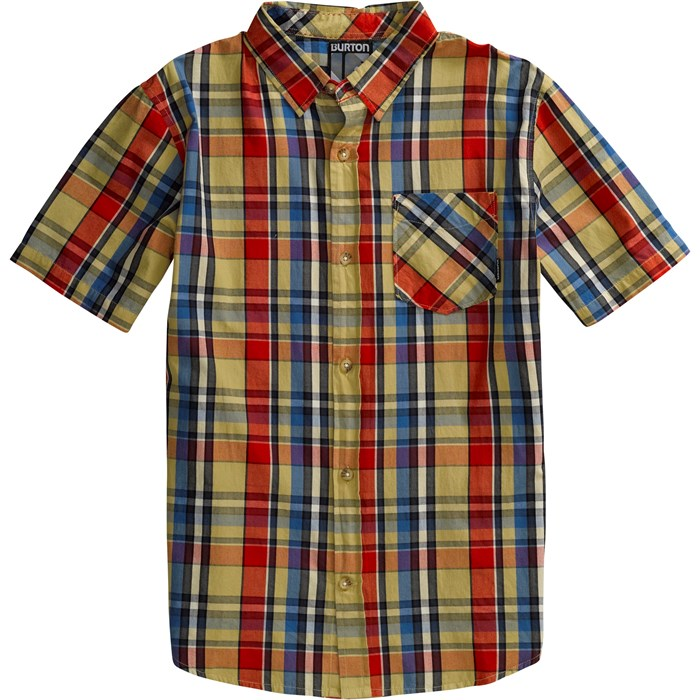 Burton - Wrench Woven Short Sleeve Button Down Shirt