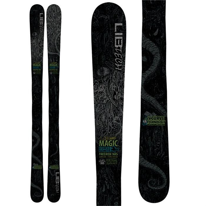 Lib Tech - Magic Horsepower NAS ReCurve Skis 2013