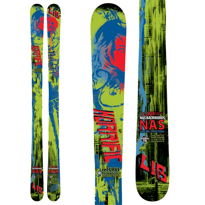 Lib Tech - NAS Backwards ReCurve Skis 2013