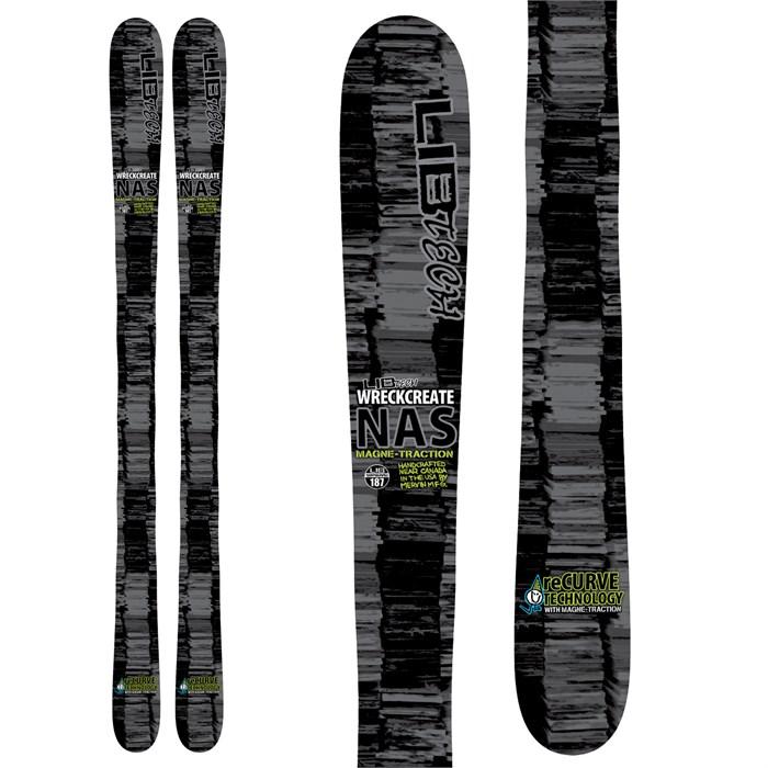 Lib Tech - NAS Wreckcreate ReCurve Skis 2013