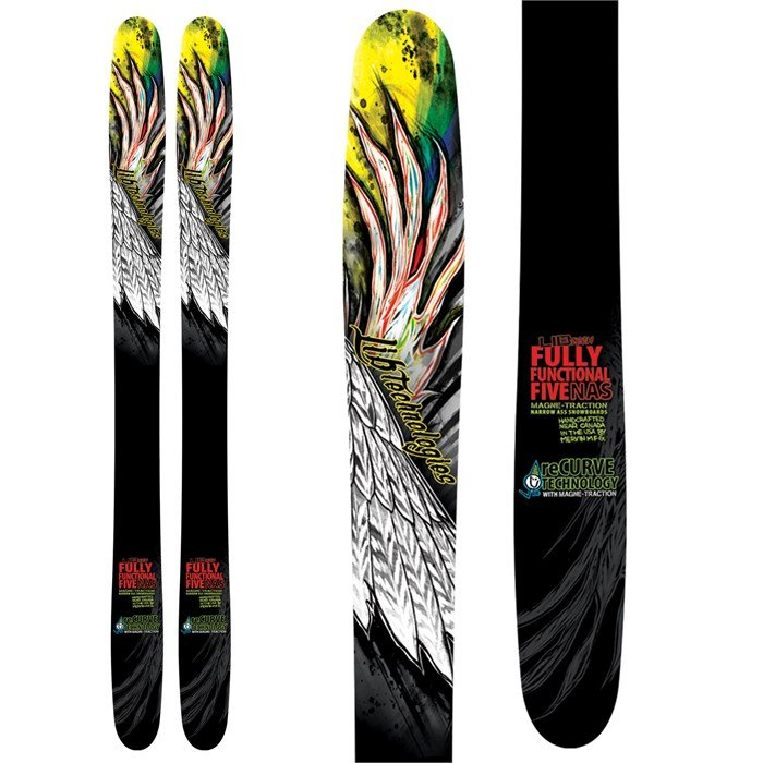 Lib Tech - Fully Functional Five ReCurve Skis 2013