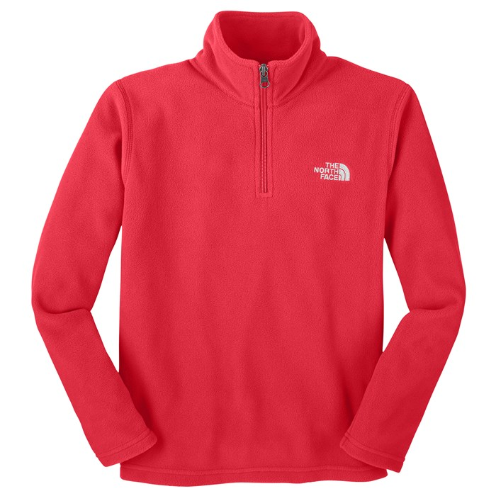 The North Face - Glacier 1/4 Zip Fleece Jacket - Youth - Boy's