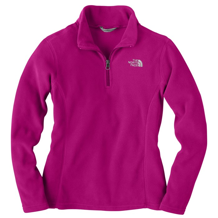 The North Face - Glacier 1/4 Zip Fleece Jacket - Youth - Girl's