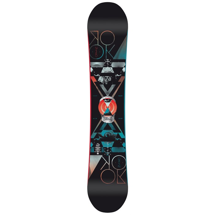 Nitro - Rook Mid Wide Snowboard 2013