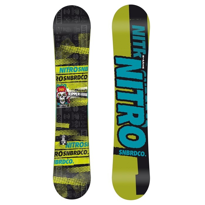 Nitro - Ripper Snowboard - Youth - Boy's 2013