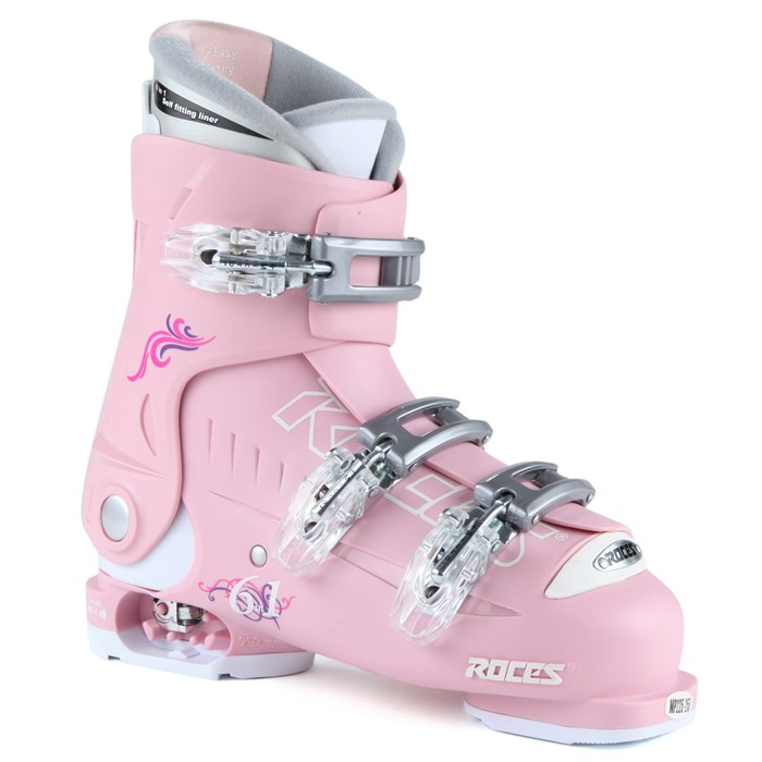 Roces - Idea Adjustable Ski Boots - Youth (22.5-25.5) 2013