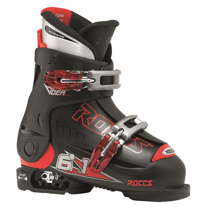 Roces - Idea Adjustable Ski Boots - Youth (16.0-18.5) 2013