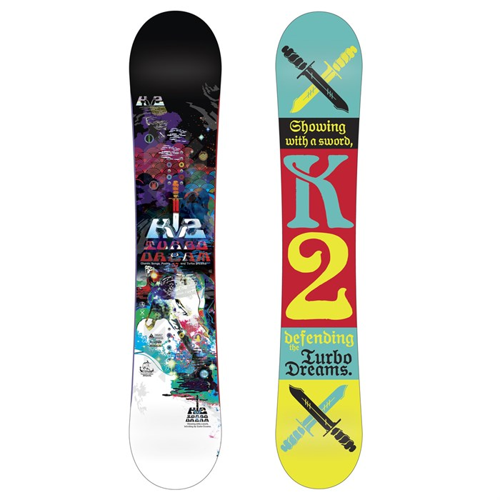 K2 - Turbo Dream Wide Snowboard 2013