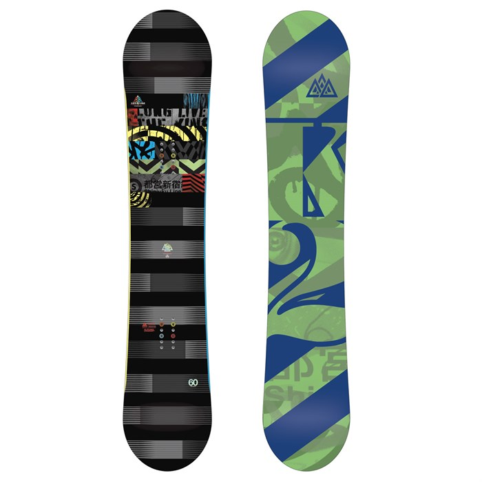 K2 - Lifelike Wide Snowboard 2013