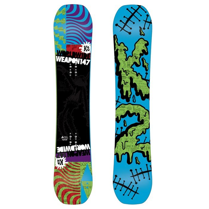 K2 - WWW (World Wide Weapon) Rocker Snowboard 2013