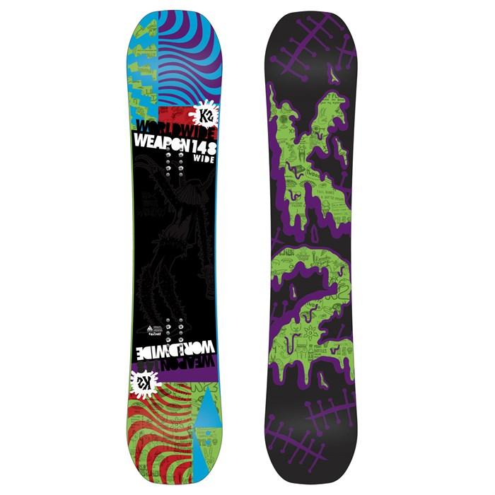 K2 - WWW (World Wide Weapon) Rocker Wide Snowboard 2013