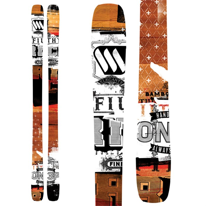 ON3P - Filthy Rich Skis 2013