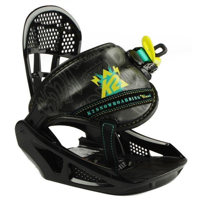 K2 - Mini Turbo Snowboard Bindings - Youth - Boy's 2013