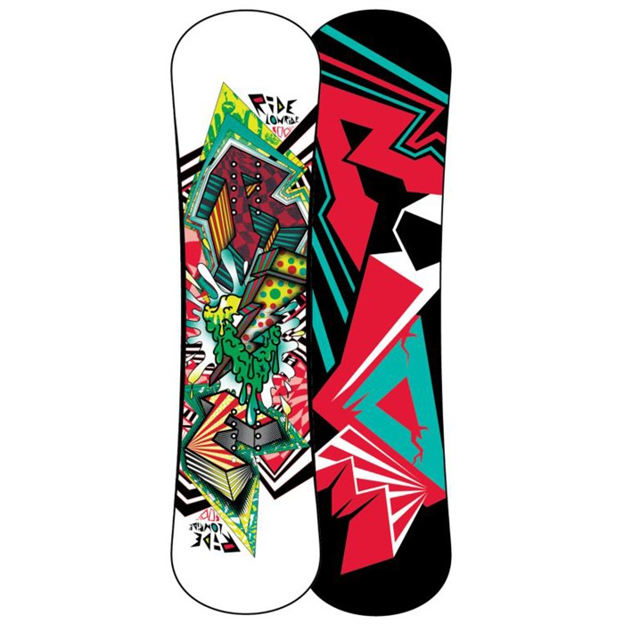 Ride - Lowride Snowboard - Youth - Boy's 2013