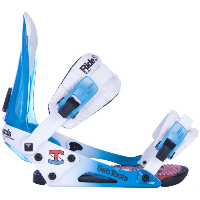 Ride - Revolt Sebastien Toutant Pro Model Snowboard Bindings 2013