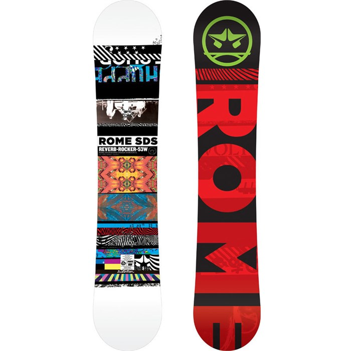 Rome - Reverb Rocker Wide Snowboard 2013