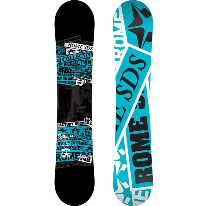 Rome - Factory Rocker Snowboard 2013